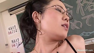 Japanese Teacher Gets Fucked