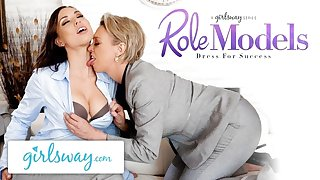 GIRLSWAY Aidra Wicked one Gets Seduced By Her Boss