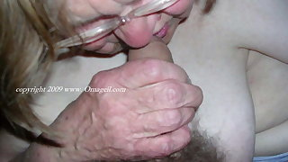 OmaGeiL Granny with the addition of Amateur Pictures at hand Compilation
