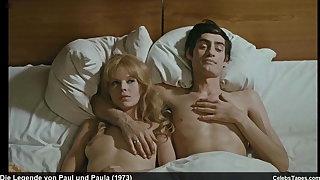 Angelica Domrose & Heidemarie Wenzel Naked Topless In Movie