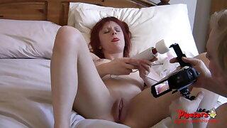 Uncovered Old Brit Camera Man Films Ember Elektra Masturbating