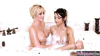 Twistys - (Celeste Star, Angela Sommers) starring at Angela And Celeste Get Untidy