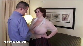 Secretary Big bowels Sapphire fucked by her boss
