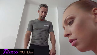 Fitness Rooms Morgan Rodriguez pov deepthroat and estimated coition