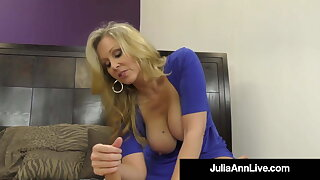 Dominating Cougar Ms. Julia Ann Orders You When To Cum! JOI!