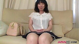 Mature Nozomi Iwahashi gets Victorian pussy creampied