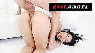 Katrina Jade's Tight Ass Slammed Back Leather - EvilAngel