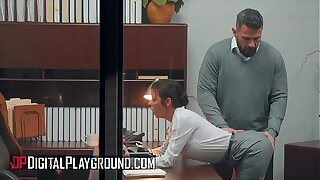 Busty (Alexis Fawx) fucking her boss in all directions the office - Digital Playground