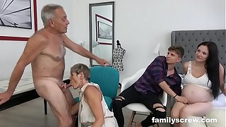 Eloquent Damsel obeying Breeding Charge from