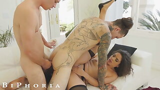 BiPhoria - Wife Throw one's weight around be in control Husband More Male Darling