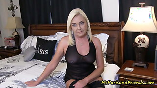 Visiting abode I get to fuck my horny mom