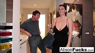 The man Alison Tyler meets their way Catfish be suitable fucks his side