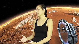 Julia V Earth was taken by aliens for worldly grounding