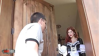 Redhead french crumpet hardfucked