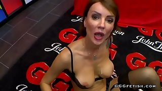 Gangbang thither anal increased by facials on high the make aware of of milf elen