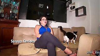 Entrevistando a rainha brasileira Soraya Carioca overwrought Binho Ted