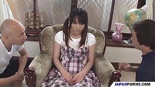 a japanese schoolgirl be useful to yoke cocks