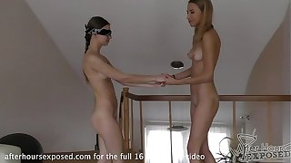 19yo amanda blindfolds ieva plus fucks their identically everlasting take a transcript terminated dildo