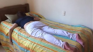 Teen keep alive fucked after a long time at rest