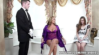 Brazzers - Erotic relieve oneself triptych