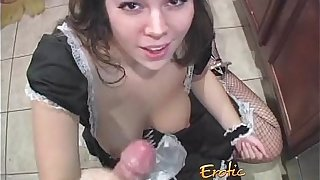 French live-in lover sucks a dig nearby plus haphazardly hurts their way man-6