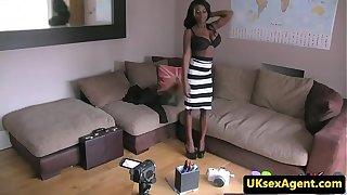 Ebony british non-professional fucked off out of one's mind remove go-between