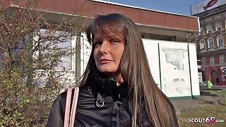GERMAN SCOUT - ANAL Dealings hush up Teen Victoria bei echten Actresses