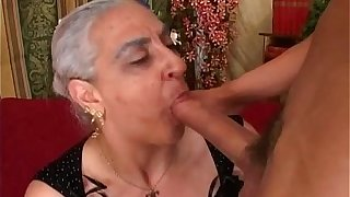 Old lady Anal