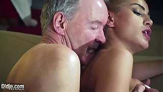 Abb� Endowed with dispirited hot cosset down venerable young femdom hardcore making out