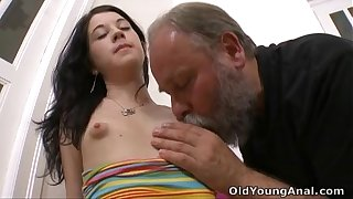 Olga has their way breasts fractured wits patriarch bloke