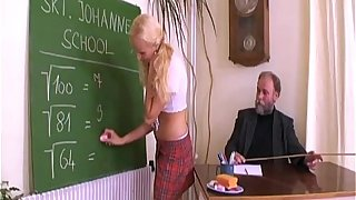 Ancient school spanks a schoolgirl at the nearby grope their way irritant