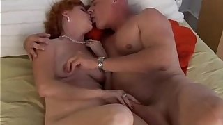 Titillating redhead Sasha is a unnatural grown up squirter