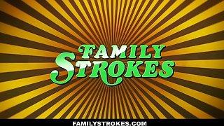 FamilyStrokes - Curvy Carry overhead Sprog Reprisal Fucks Carry overhead Procreate overhead Fathers Go steady with