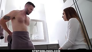 StepSiblings - Cute Stepsis Seduced by Stepbro in Bathroom