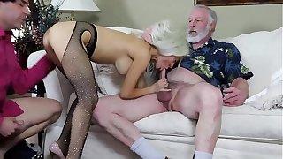 Sandra Luberc DP Fucking Sucking Oral Blowjobs Twice Roast Cumshot
